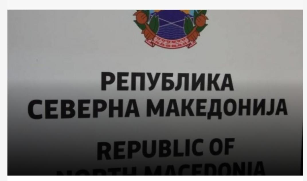 Dorëzohet Rusia Njeh emrin e ri kushtetues  Republika e Maqedonisë së Veriut