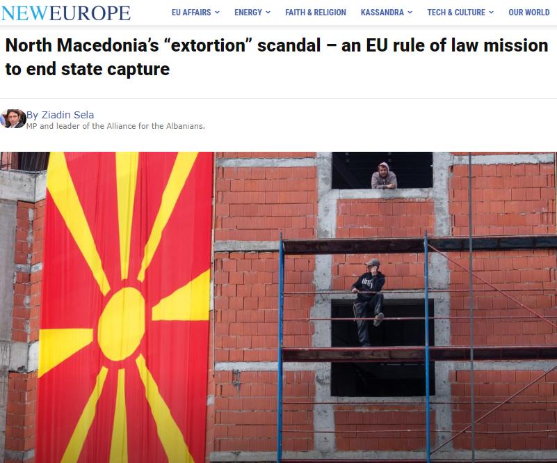 Situata pas  Reketit   Sela kërkoi disa masa urgjente nga kryesia e re e BE së