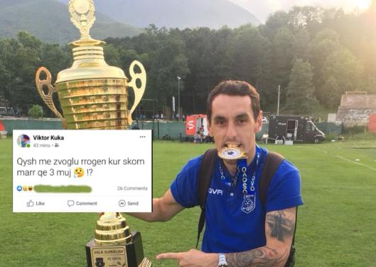 Futbollisti i Ferizajit  Qysh me ulë rrogën kur nuk e kam marrë qe 3 muaj