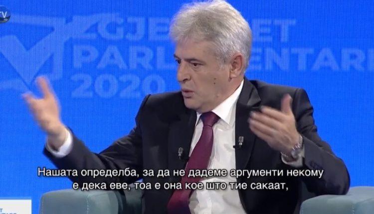 Ali Ahmeti  Ideja e kryeministrit është që në 2009 tën
