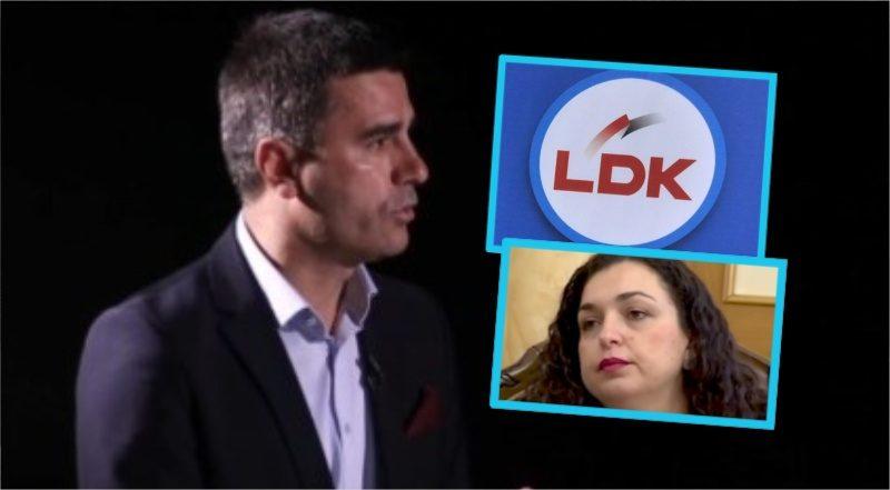 Xhafer Tahiri del kun dër vendimit të partisë  Përjashtimi i Vjosa Osmanit e ka dëmt uar LDK në