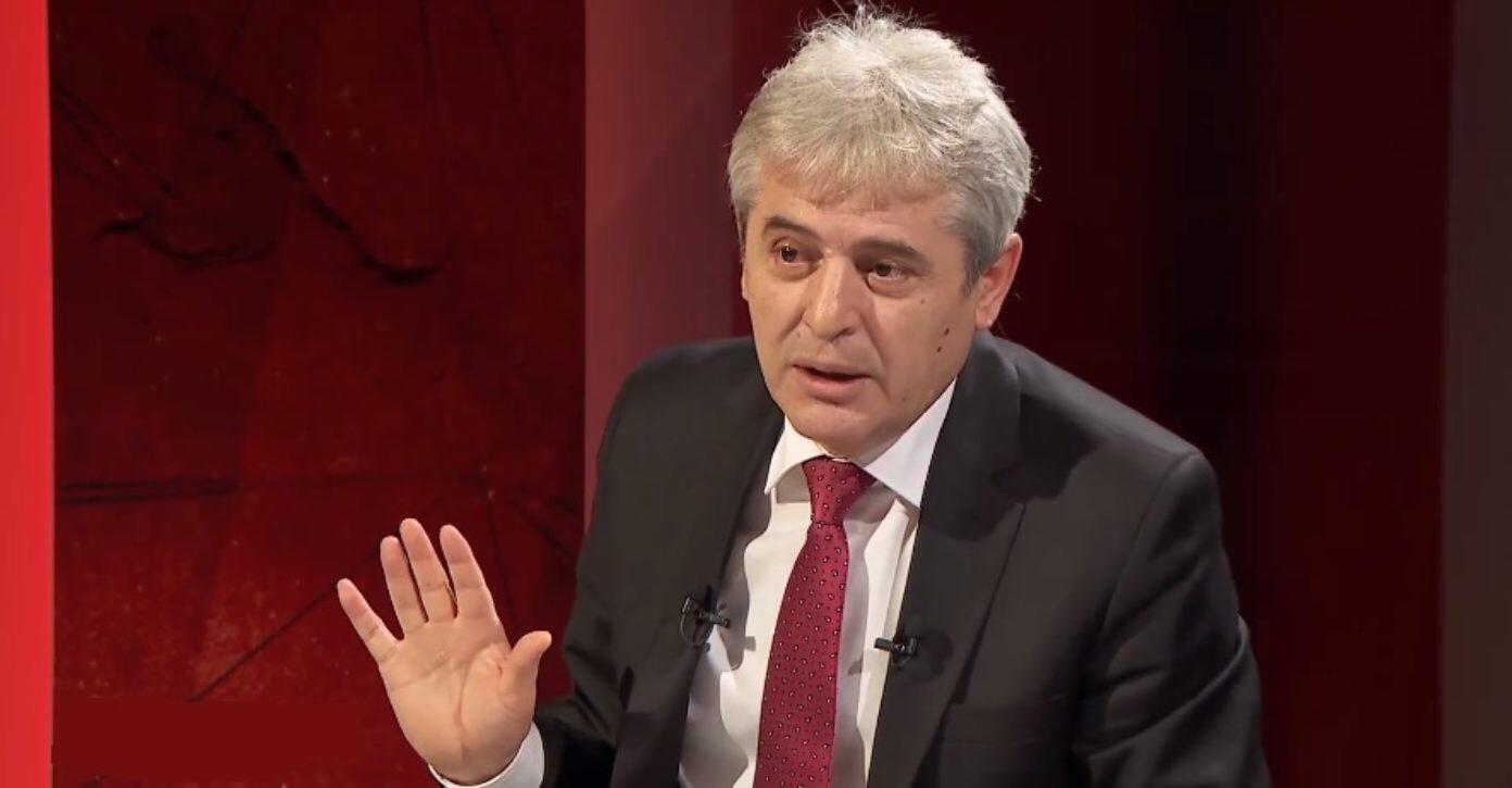 Ali Ahmeti  S mund të them se Zaevi do jetë kryeministër sepse ai do jetë Naser Zyberi