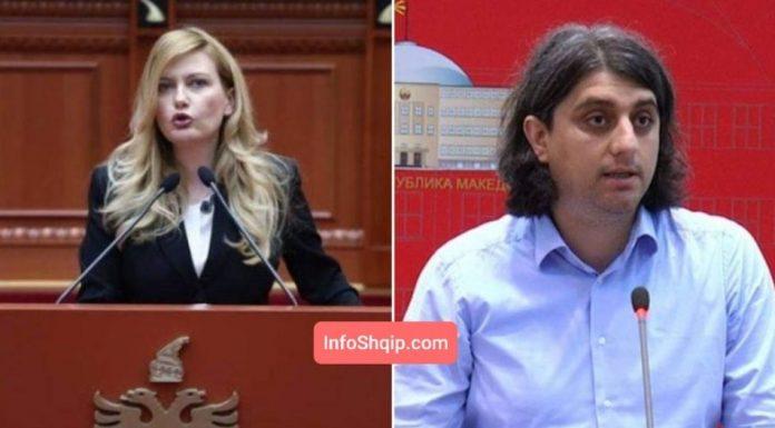 Kohë më parë deputetja Mesila Doda i replikonte Mukit   Për Iliridën nuk më ndalojnë të flas sllavët  e as dhëndurët e sllavëve