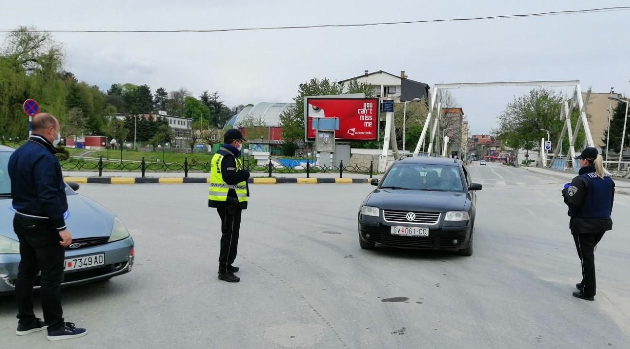 SPB Tetovë filloi me kontrolle të përforcuara për respektim të masave mbrojtëse në komunikacionin rrugor